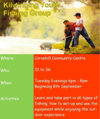 Kilwinning Youth Fishing Group